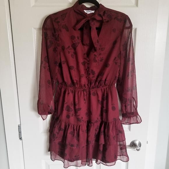 BB Dakota Dresses & Skirts - Red Country Chic Dress